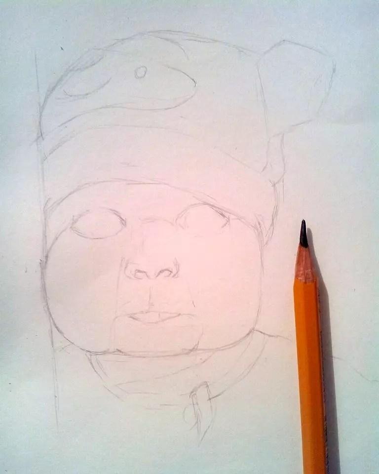 Как нарисовать ребенка? Шаг 8. Портреты карандашом - Fenlin.ru