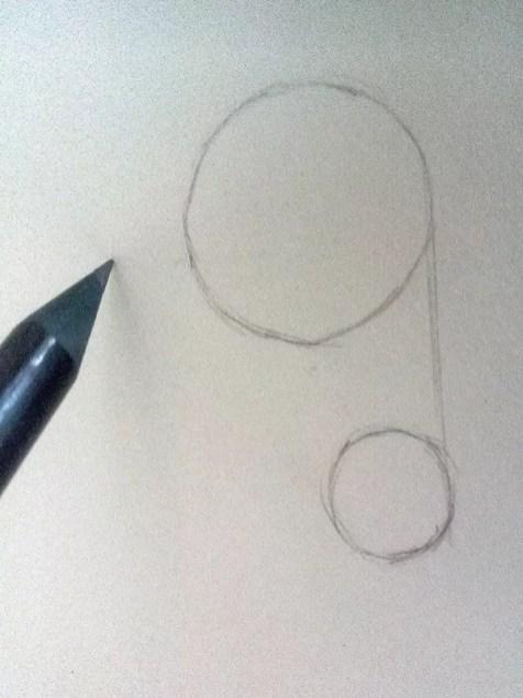 Как нарисовать ухо человека карандашом? Шаг 1. Портреты карандашом - Fenlin.ru