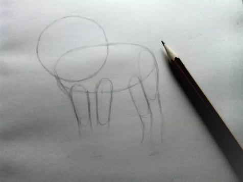 Как нарисовать льва карандашом? Шаг 3. Портреты карандашом - Fenlin.ru