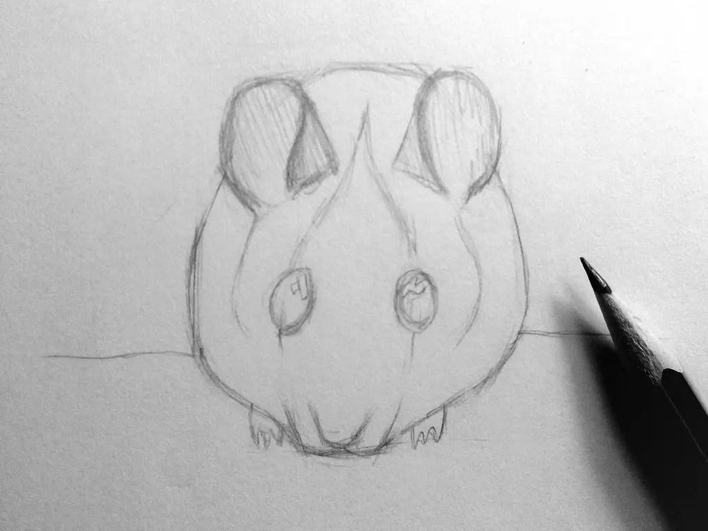 Как нарисовать мышку карандашом? Шаг 10. Портреты карандашом - Fenlin.ru