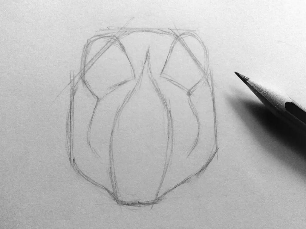 Как нарисовать мышку карандашом? Шаг 5. Портреты карандашом - Fenlin.ru