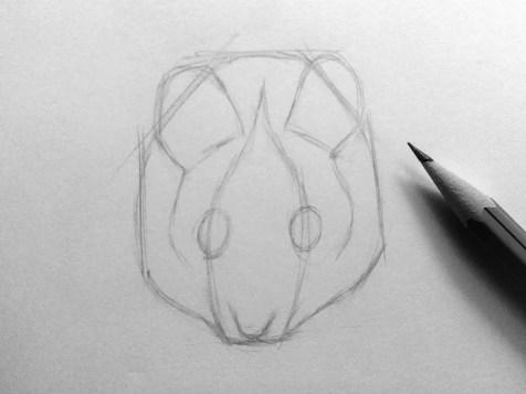 Как нарисовать мышку карандашом? Шаг 7. Портреты карандашом - Fenlin.ru
