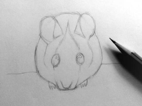 Как нарисовать мышку карандашом? Шаг 9. Портреты карандашом - Fenlin.ru