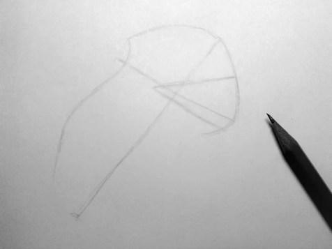 Как нарисовать орла карандашом? Шаг 3. Портреты карандашом - Fenlin.ru
