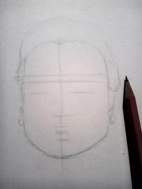 Как нарисовать женский портрет карандашом? Шаг 3. Портреты карандашом - Fenlin.ru