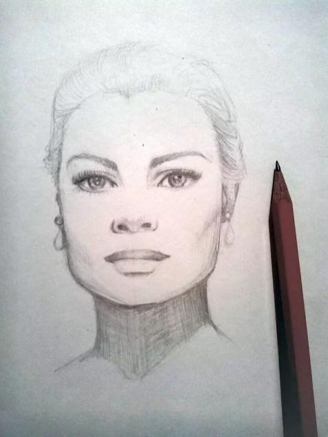 Как нарисовать женский портрет карандашом? Шаг 8. Портреты карандашом - Fenlin.ru