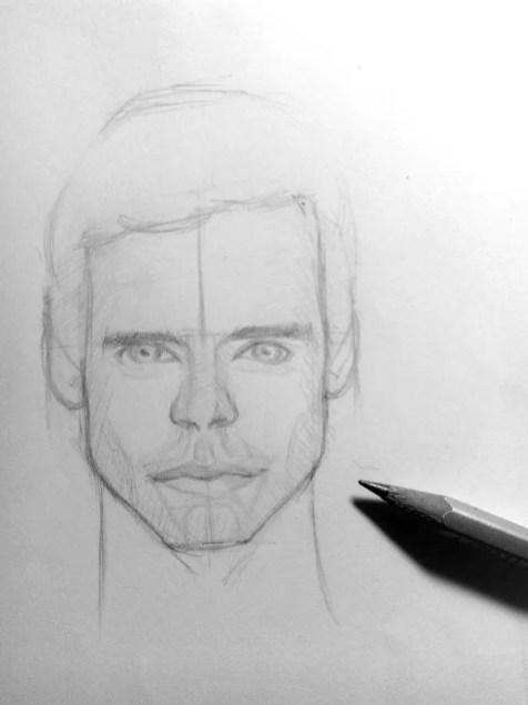 Как нарисовать мужчину карандашом? Шаг 14. Портреты карандашом - Fenlin.ru
