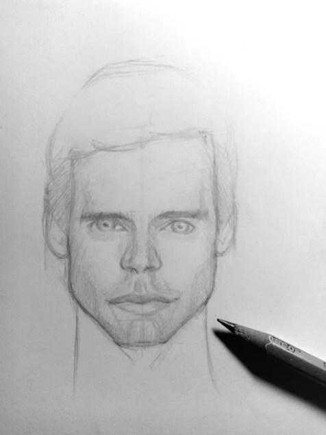 Как нарисовать мужчину карандашом? Шаг 16. Портреты карандашом - Fenlin.ru