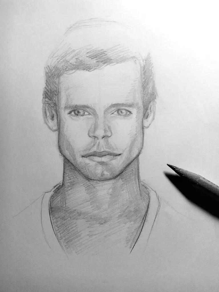 Как нарисовать мужчину карандашом? Шаг 19. Портреты карандашом - Fenlin.ru