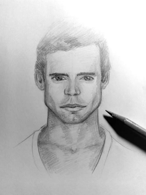 Как нарисовать мужчину карандашом? Шаг 21. Портреты карандашом - Fenlin.ru
