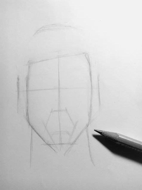 Как нарисовать мужчину карандашом? Шаг 5. Портреты карандашом - Fenlin.ru