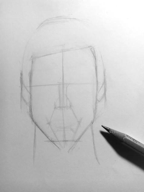 Как нарисовать мужчину карандашом? Шаг 6. Портреты карандашом - Fenlin.ru