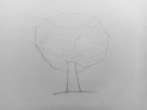Как нарисовать дерево карандашом? Поэтапный урок. Шаг 3. Портреты карандашом - Fenlin.ru