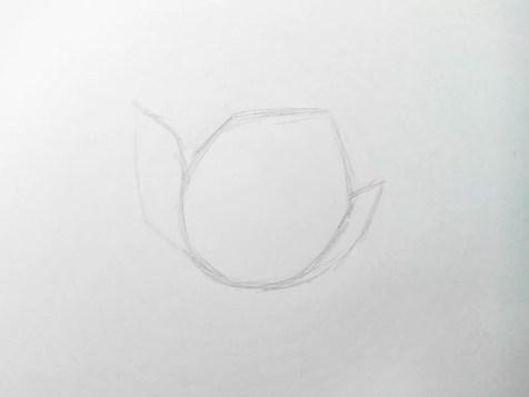 Как нарисовать цветок карандашом? Поэтапный урок. Шаг 2. Портреты карандашом - Fenlin.ru