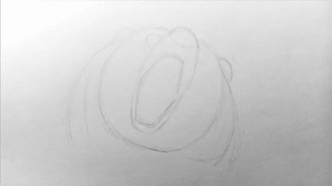 Как нарисовать медведя карандашом? Шаг 4. Портреты карандашом - Fenlin.ru