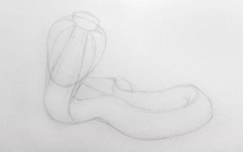 Как нарисовать кобру карандашом? Шаг 5. Портреты карандашом - Fenlin.ru