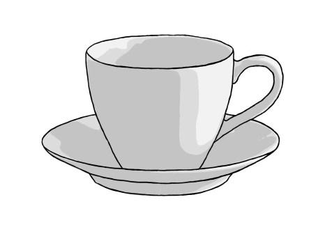 Как нарисовать чашку на графическом планшете? Шаг 11. Портреты карандашом - Fenlin.ru
