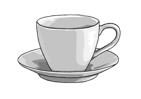 Как нарисовать чашку на графическом планшете? Шаг 12. Портреты карандашом - Fenlin.ru