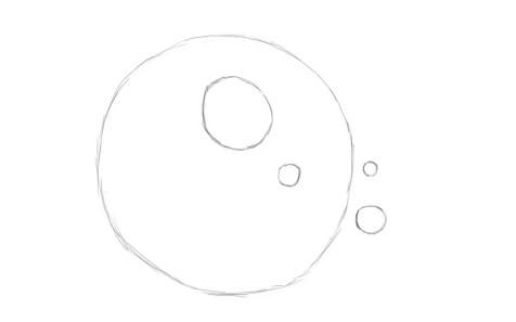 Как нарисовать ежика карандашом? Шаг 2. Портреты карандашом - Fenlin.ru