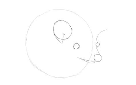 Как нарисовать ежика карандашом? Шаг 3. Портреты карандашом - Fenlin.ru
