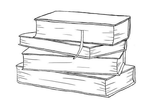 Как нарисовать книги на графическом планшете? Шаг 8. Портреты карандашом - Fenlin.ru