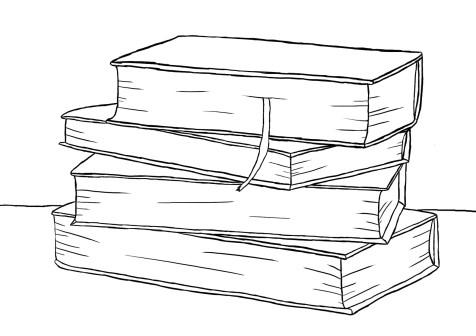 Как нарисовать книги на графическом планшете? Шаг 9. Портреты карандашом - Fenlin.ru