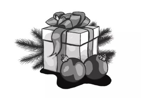 Как нарисовать подарок на новый год? Шаг 17. Портреты карандашом - Fenlin.ru