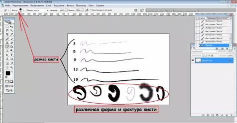 Как настроить графический планшет в Adobe Photoshop? Шаг 6. Портреты карандашом - Fenlin.ru