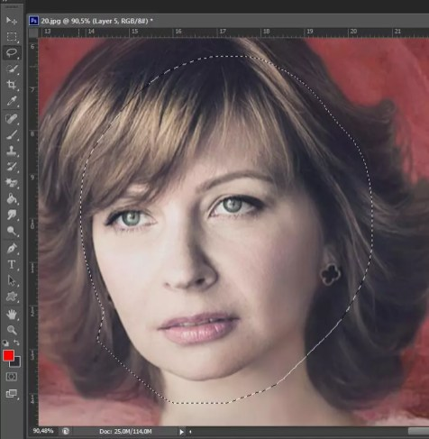 Фотомонтаж в образ с помощью Photoshop (Фотошоп). Шаг 21