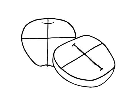 Как нарисовать яблоко? Шаг 4. Портреты карандашом - Fenlin.ru