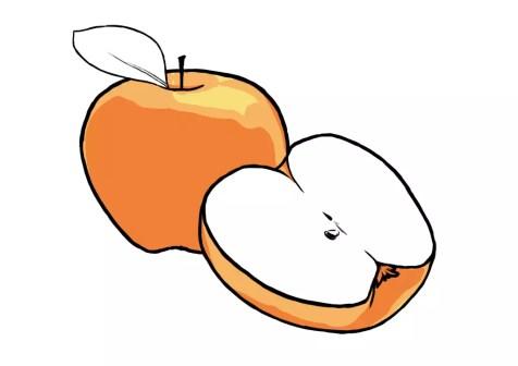 Как нарисовать яблоко? Шаг 9. Портреты карандашом - Fenlin.ru