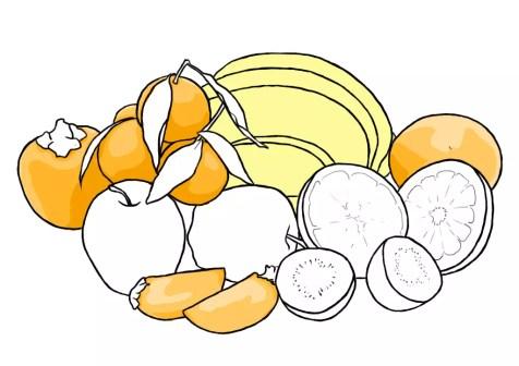 Как нарисовать фрукты? Шаг 12. Портреты карандашом - Fenlin.ru