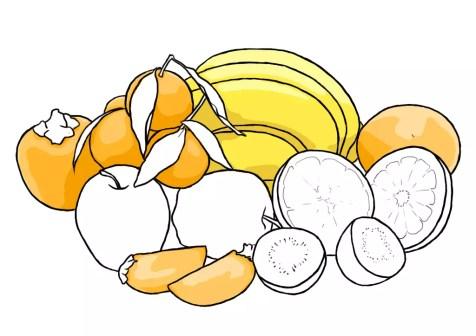 Как нарисовать фрукты? Шаг 14. Портреты карандашом - Fenlin.ru