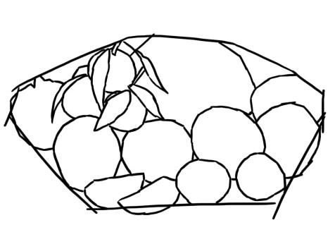 Как нарисовать фрукты? Шаг 2. Портреты карандашом - Fenlin.ru