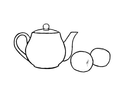 Как нарисовать простой натюрморт? Шаг 8. Портреты карандашом - Fenlin.ru