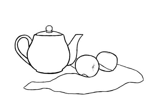 Как нарисовать простой натюрморт? Шаг 9. Портреты карандашом - Fenlin.ru