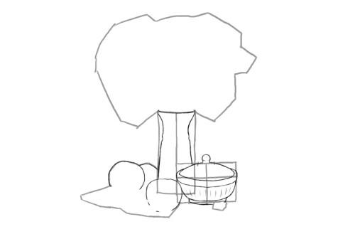 Как нарисовать сложный натюрморт? Шаг 9. Портреты карандашом - Fenlin.ru