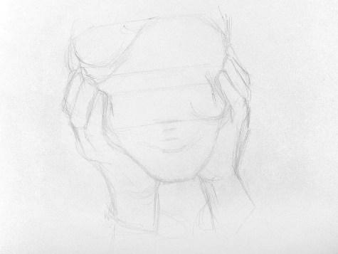 Как нарисовать старушку карандашом? Шаг 3. Портреты карандашом - Fenlin.ru