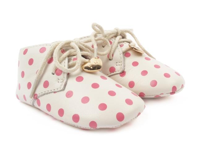 Hugo Boot Pink Spot