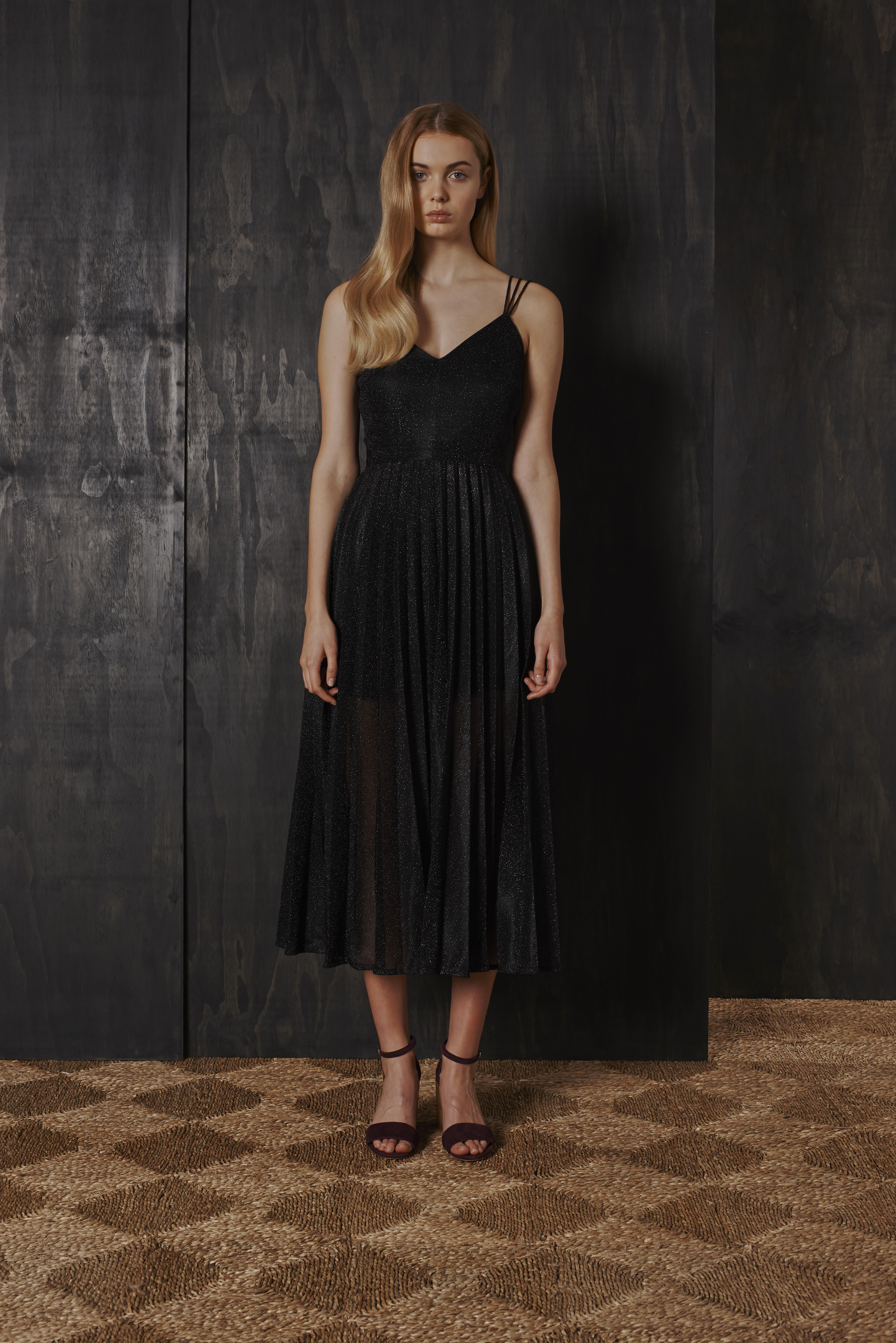 RUBY Gin Pleat Gown & Audrey Heel