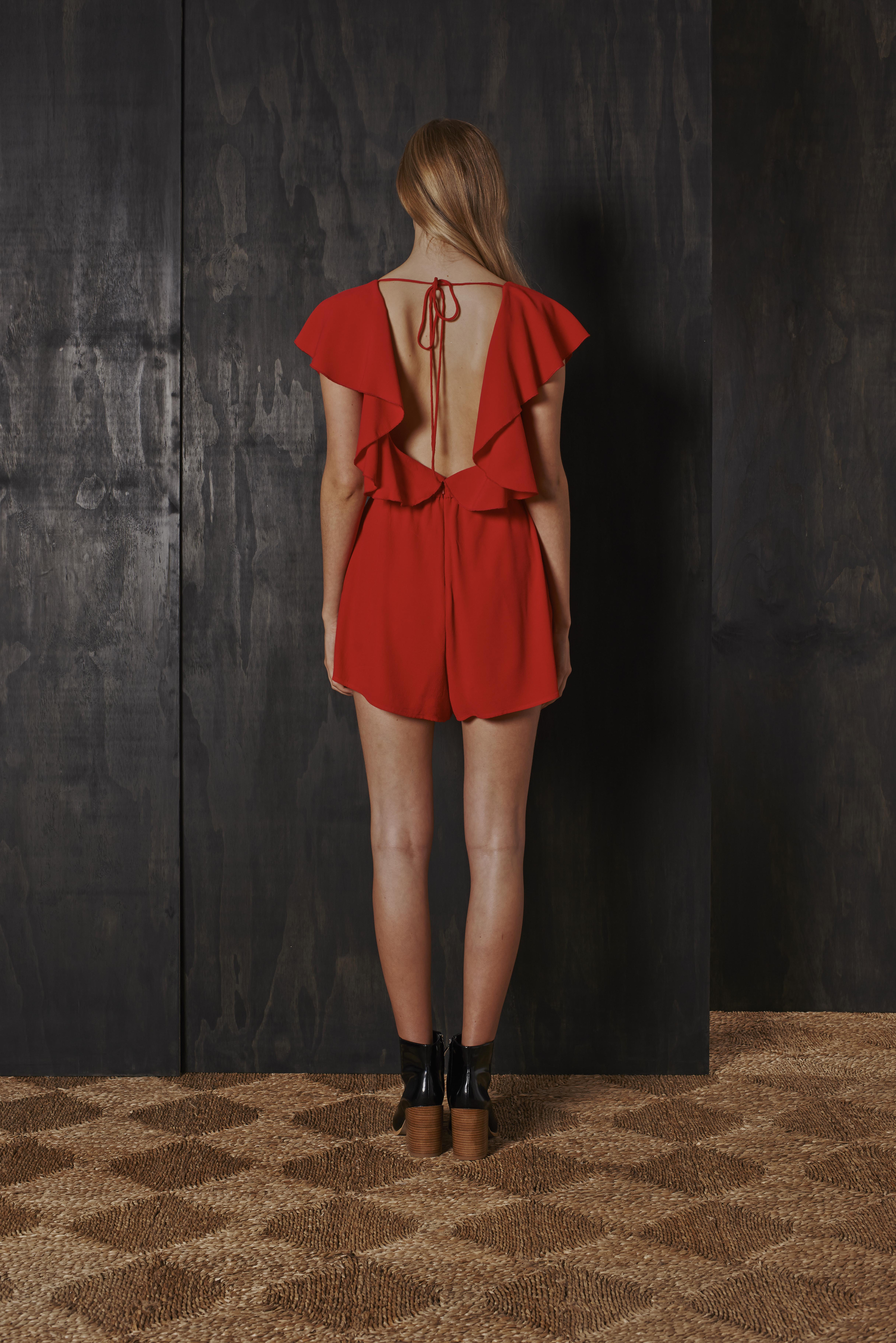 RUBY Orchid Playsuit & Willow Boot(back)