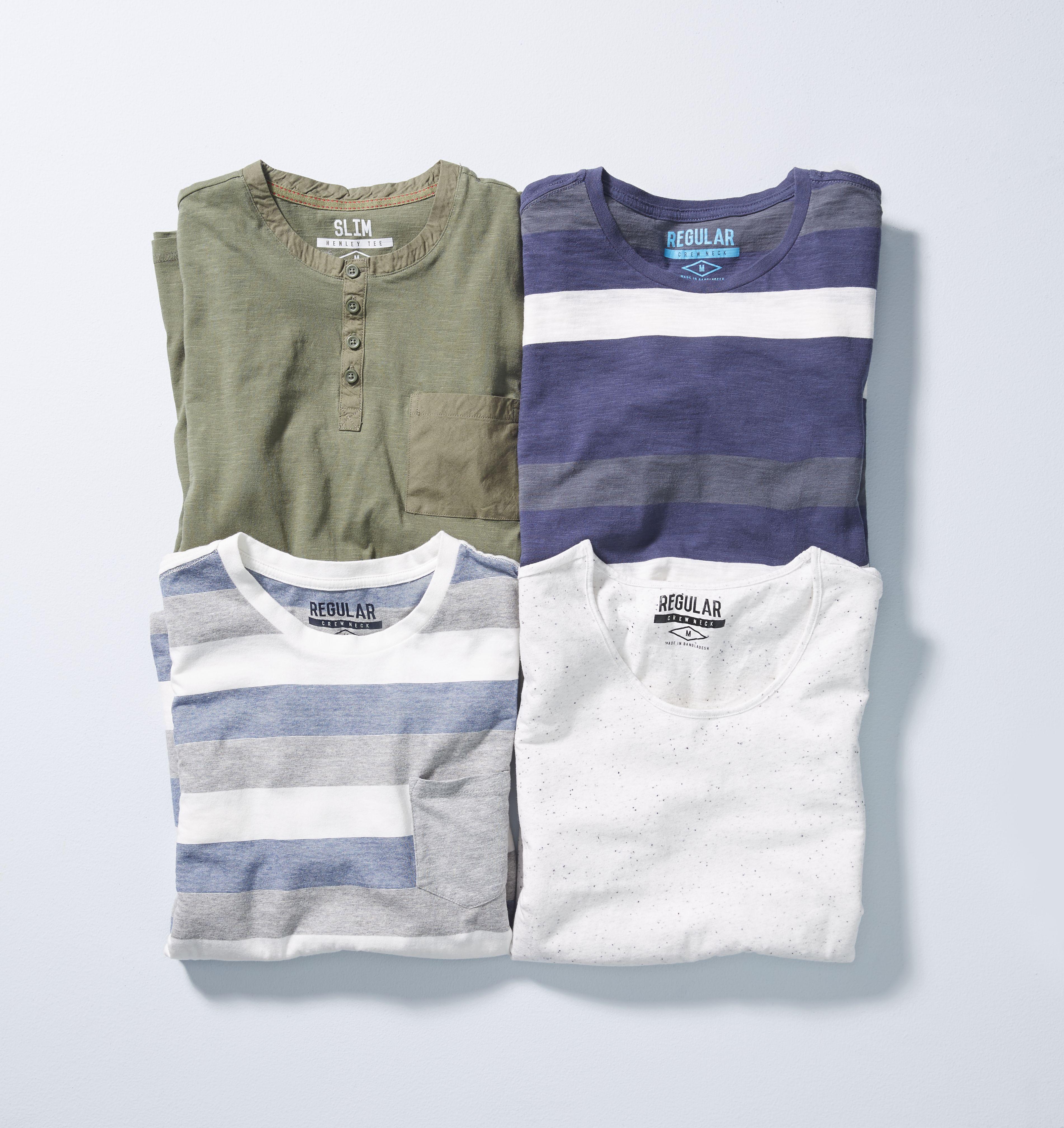 Kmart Men's Cotton Blend Tee, Size XS- 4XL, RRP$12ea