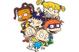 Cartoon picture of famous Rugrats cartoon