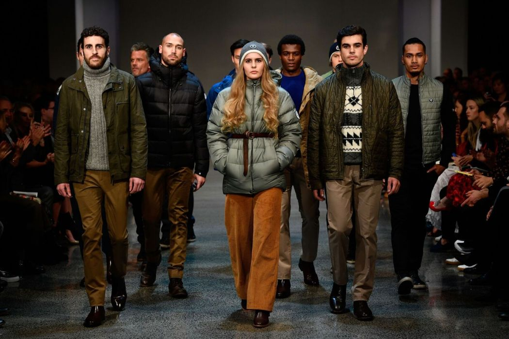 edmund hillary's grandchildren on the runway