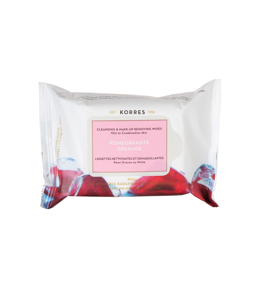 Korres Pomegranate Wipes