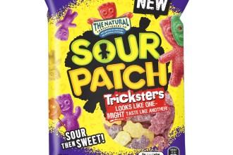 bag of sour patch kids tricksters