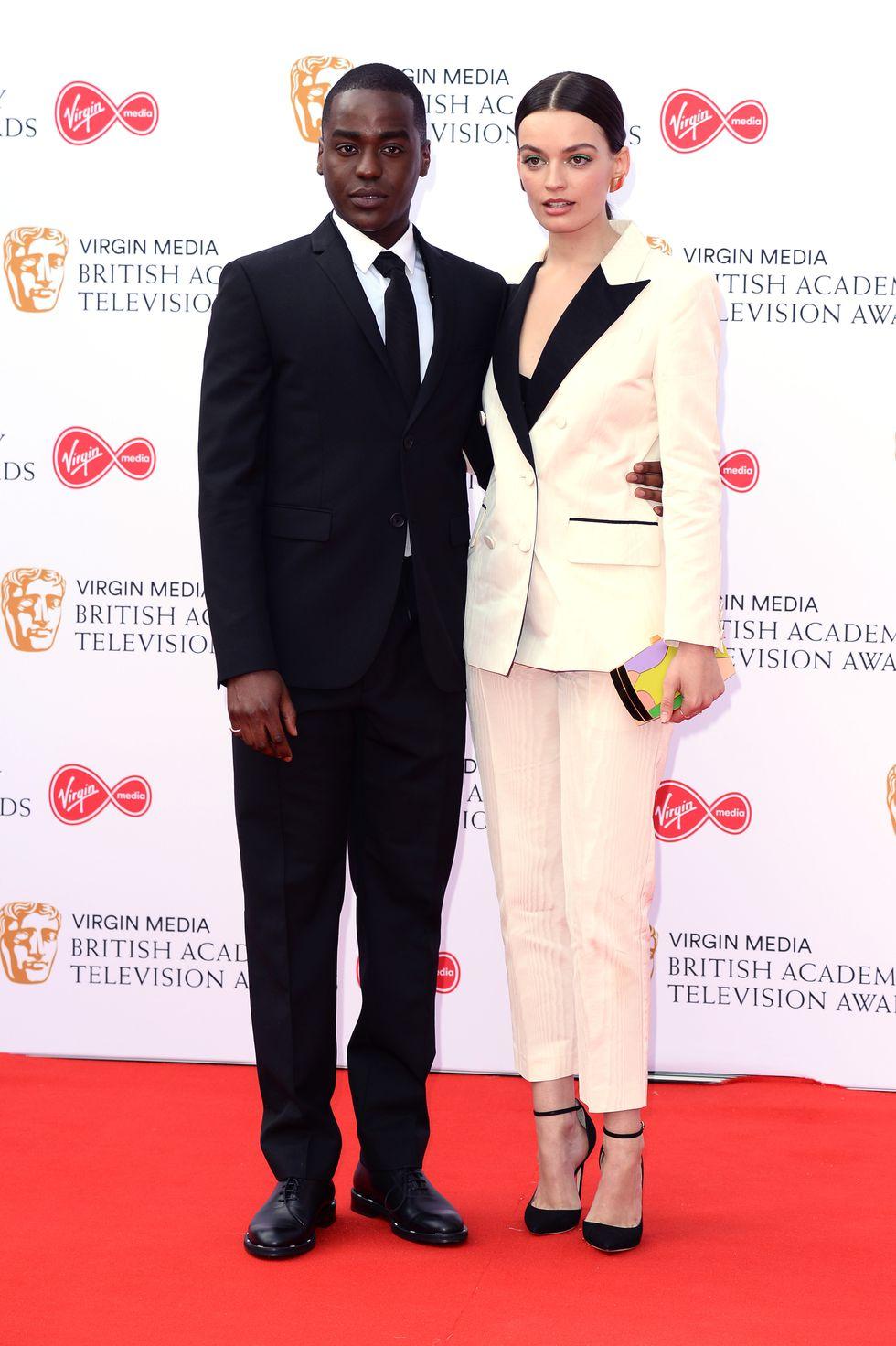 Ncuti Gawa and Emma Mackey