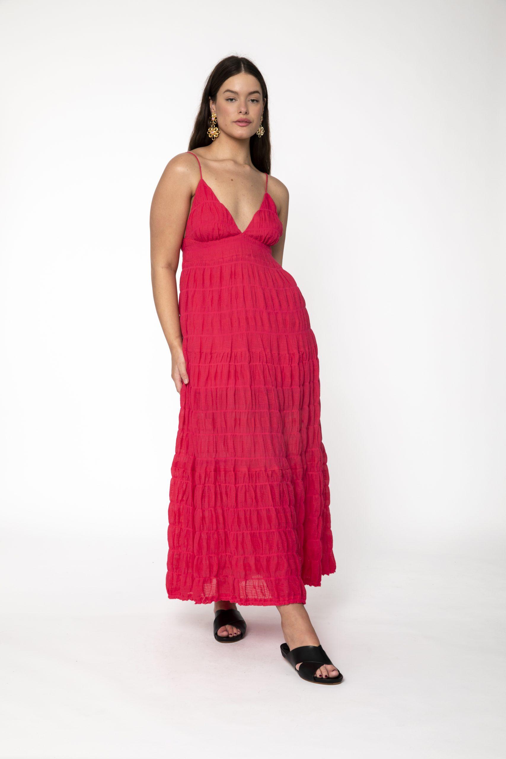 RUBY MIRELLA TIERED DRESS