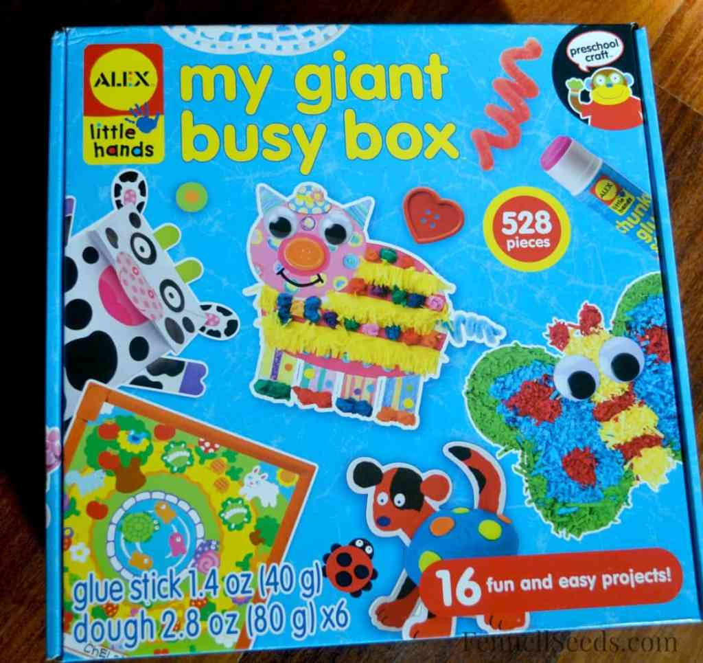 Toy Review - Alex busy box