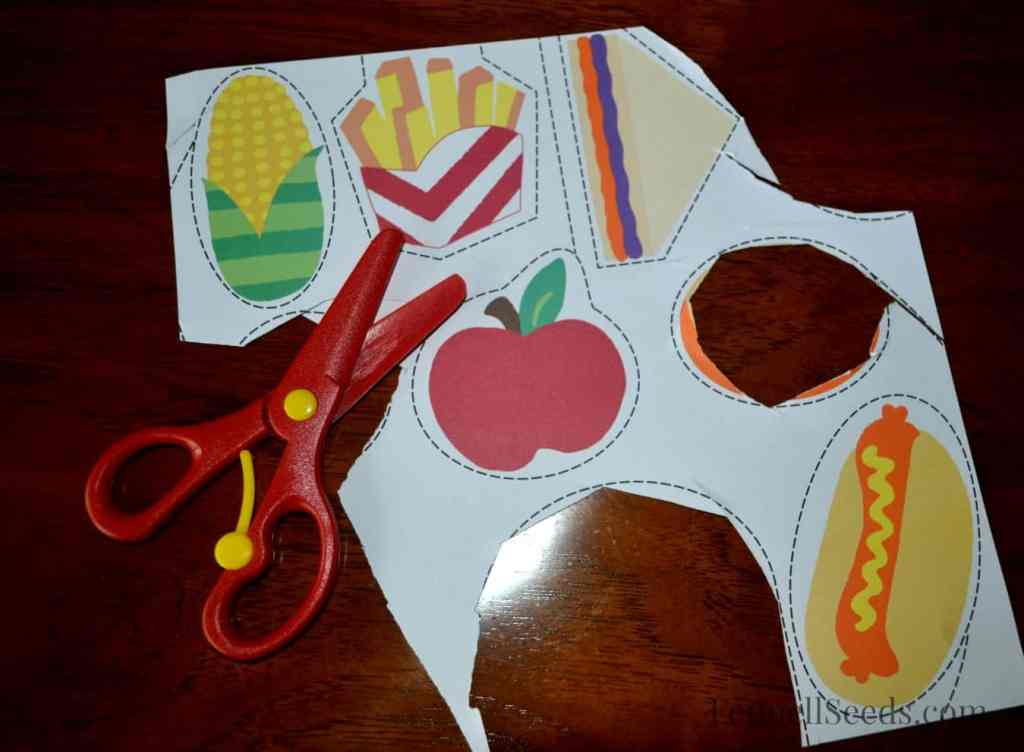 Preschool Scissors with spring release